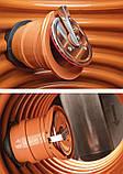 Выпускной канализационный обратный клапан 110 мм KARMAT, фото 3