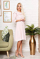 Нежное платье женское в 4х цветах Доминика, фото 1