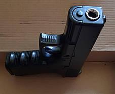 Игрушечный детский пневматический пистолет Глок 17 (Glock 17) G15 Металлический с пулями в комплекте , фото 3