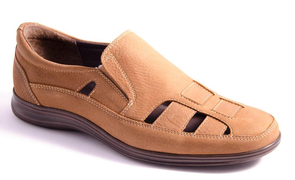 Туфли мужские коричневые Romani 7370306 р.40-45