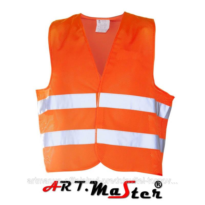 Предупреждающий жилет Kamiz. odbl.VEST2 MESH orange оранжевого цвета ARTMAS