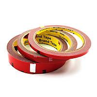 Двухсторонний скотч 3M, красный, 6 мм