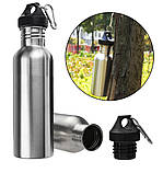 Бутылка для воды (750 мл)  + Карабин, фото 3