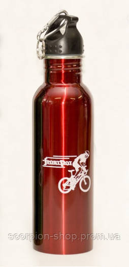 Бутылка для воды (750 мл)  + Карабин