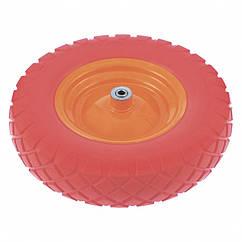 Колесо полиуретановое 4.80/4-8, длина оси 90 мм, подшипник 20 мм Palisad