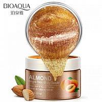 Скраб для тела с абрикосом и миндалем Bioaqua Almond Bright Skin Body Scrub (120г), фото 1