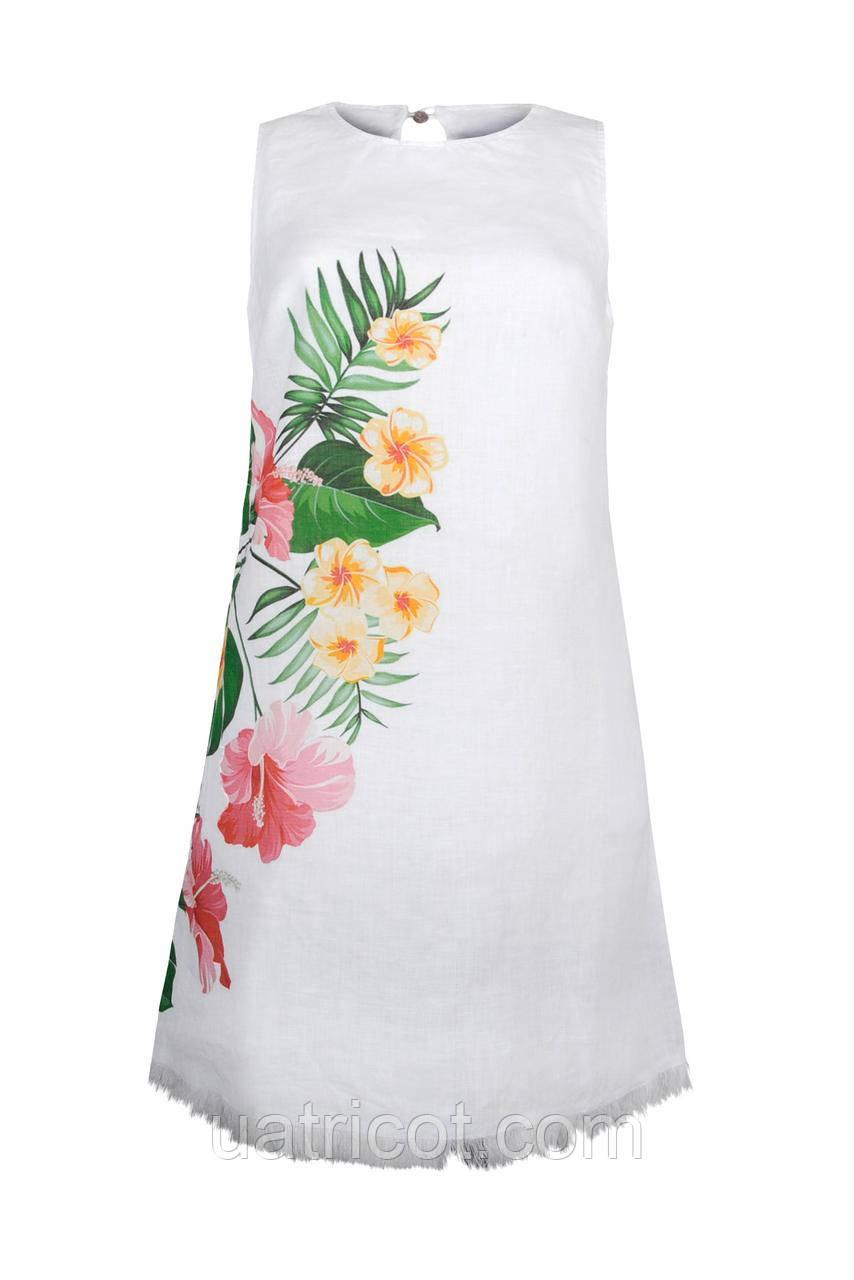 Платье женское KIFA ПЖ-018/32 белое