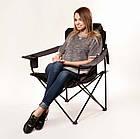 """Кресло """"Мастер карп"""" d16 мм Зеленый Меланж , фото 4"""
