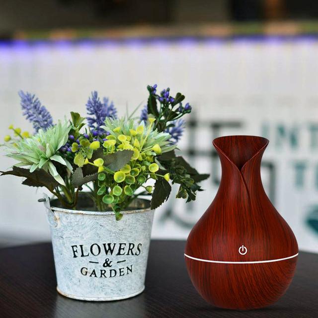 Увлажнитель воздуха ультразвуковой настольный в виде вазы
