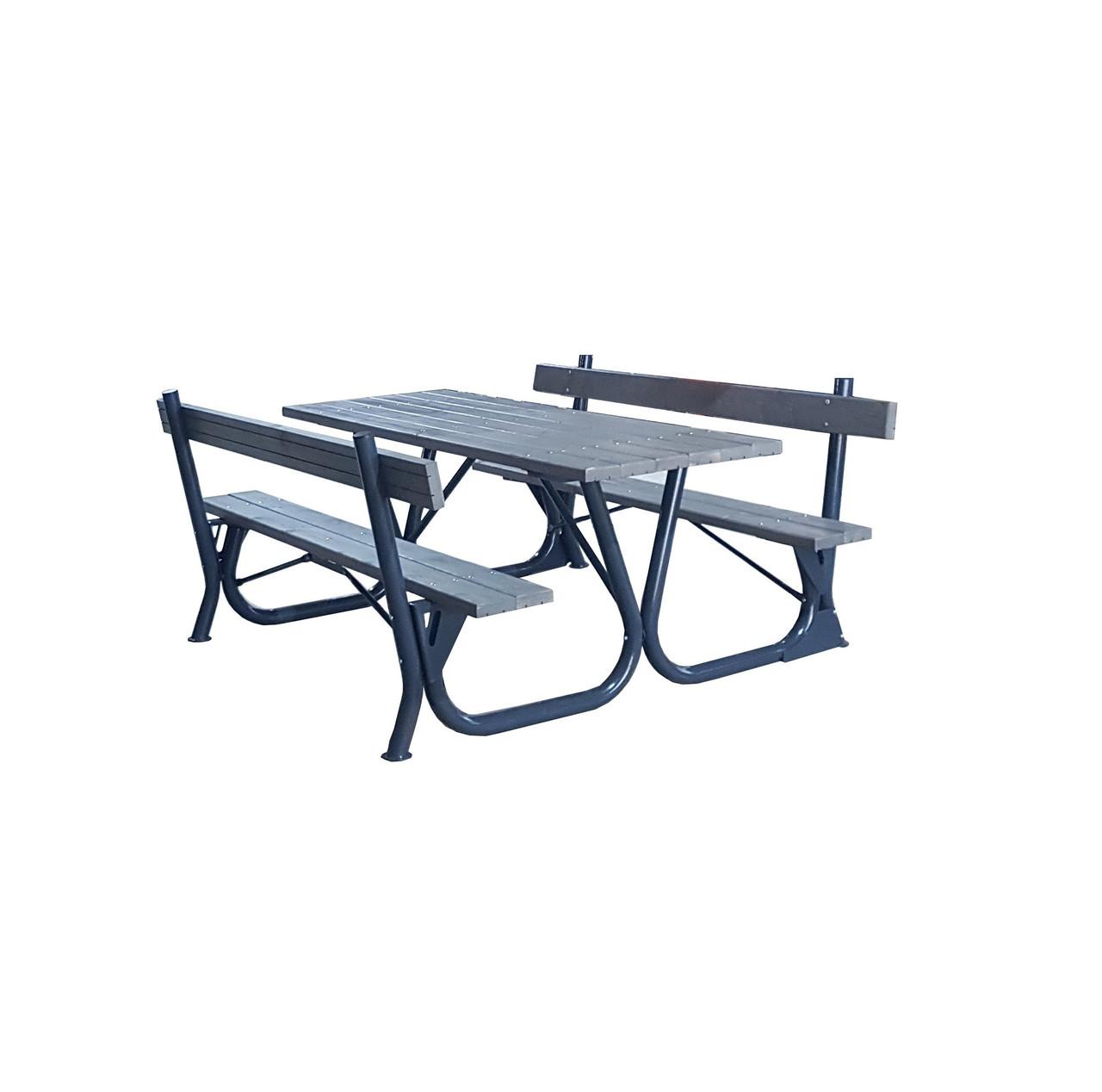 Садовый стол с лавками