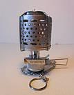 Лампа с пьезоподжигом и металлическим плафоном Tramp. Газовая ламппа., фото 3