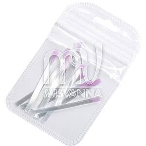 Волокно для наращивания ногтей Global Fashion, 10 штук 5.5 см