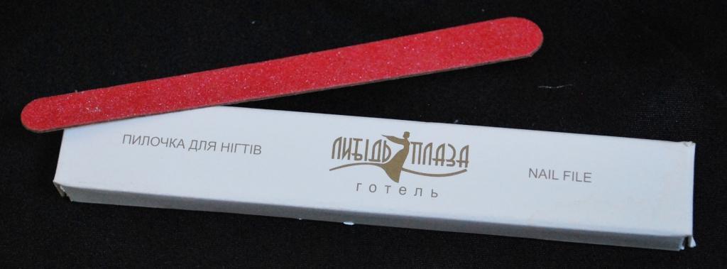 NFTV-000L Пилочка в картонной упаковке, с логотипом