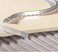 Уголок для укладки плитки алюминиевый гнущийся