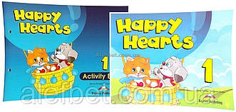 Английский язык / Happy Hearts / Pupil's+Activity Book. Учебник+Тетрадь (комплект), 1 / Exspress Publishing
