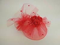 Нарядные шляпки для девочек с бусинами и стразами к праздничным платьям, фото 1