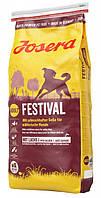 """Сухой корм """"Josera Festival"""" (с лососем и рисом для привередливых собак) 4 кг"""