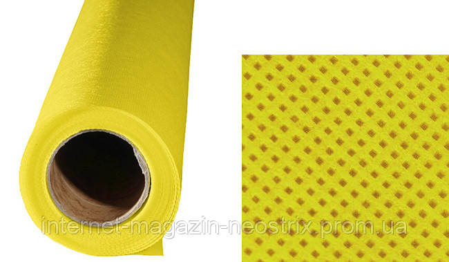 Студийный полипропиленовый фон F&V 1,6х2,5 м (желтый)