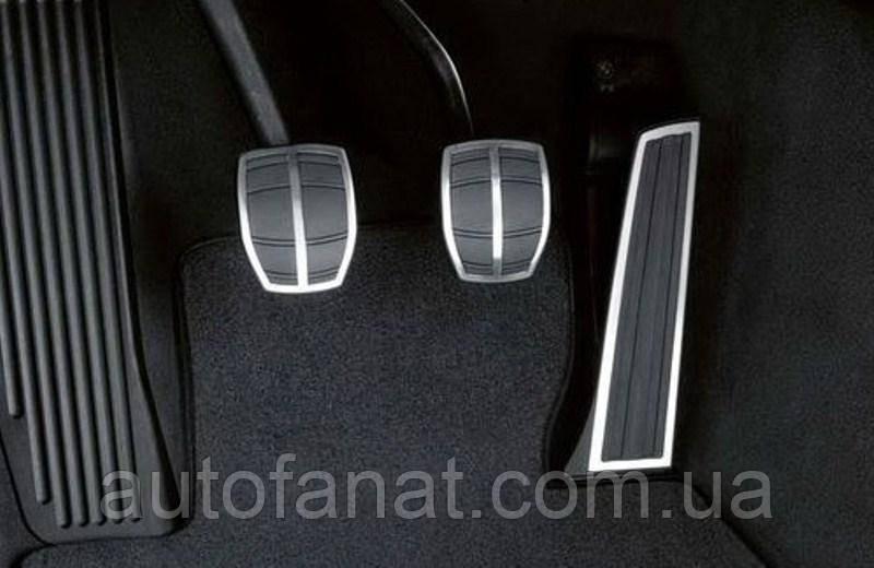 Оригинальные накладки на педали BMW 5 (Е60) M Performance с (МКПП) (35000410099)