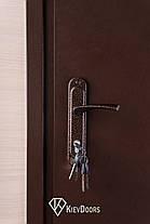 Нестандартные входные двери метал/ДСП 190 см. на улицу, фото 2