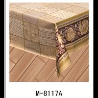 Клеенка (8117A) силиконовая, без основы, рулон. Китай. 1,37м/30м
