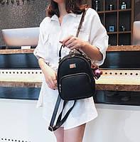 Модный женский мини рюкзак сумка Черный