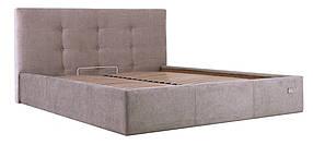 Кровать Манчестер Мисти мокко с пуговицами (Richman ТМ)
