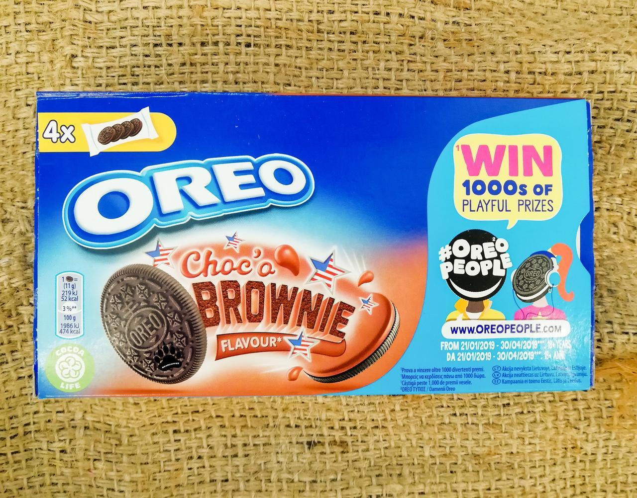 OREO Choco Brownie - Печенье ОРЕО
