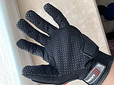 Защитные мото перчатки с костяшками Alpinestars мотоперчатки, фото 3