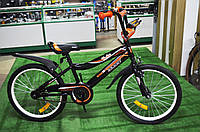 """Детский велосипед Remmy Roky 20"""" черно-оранжевый"""