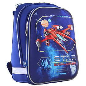 """Рюкзак шкільний каркасний H-12 """"Star Explorer"""" 555960"""