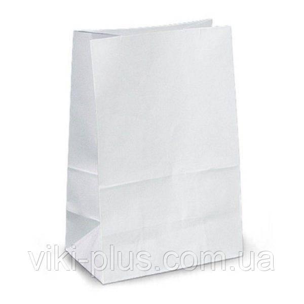 Пакет бумажный 18*5*28см белый(1000шт/уп)