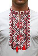 Чоловіча вишита футболка з орнаментом