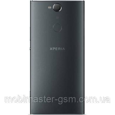 Задняя крышка Sony H4413 Xperia XA2 Plus черная