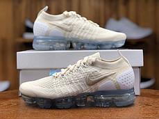 "Кроссовки Nike Air Vapormax Flyknit 2.0 ""Белые\Бежевые"", фото 2"