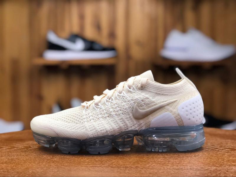 "Кроссовки Nike Air Vapormax Flyknit 2.0 ""Белые\Бежевые"""