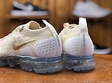 "Кроссовки Nike Air Vapormax Flyknit 2.0 ""Белые\Бежевые"", фото 3"