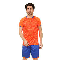 Футбольная форма PL, р-р L-3XL, рост 160-185cм., оранжевый (LD-5021-(or)), фото 1