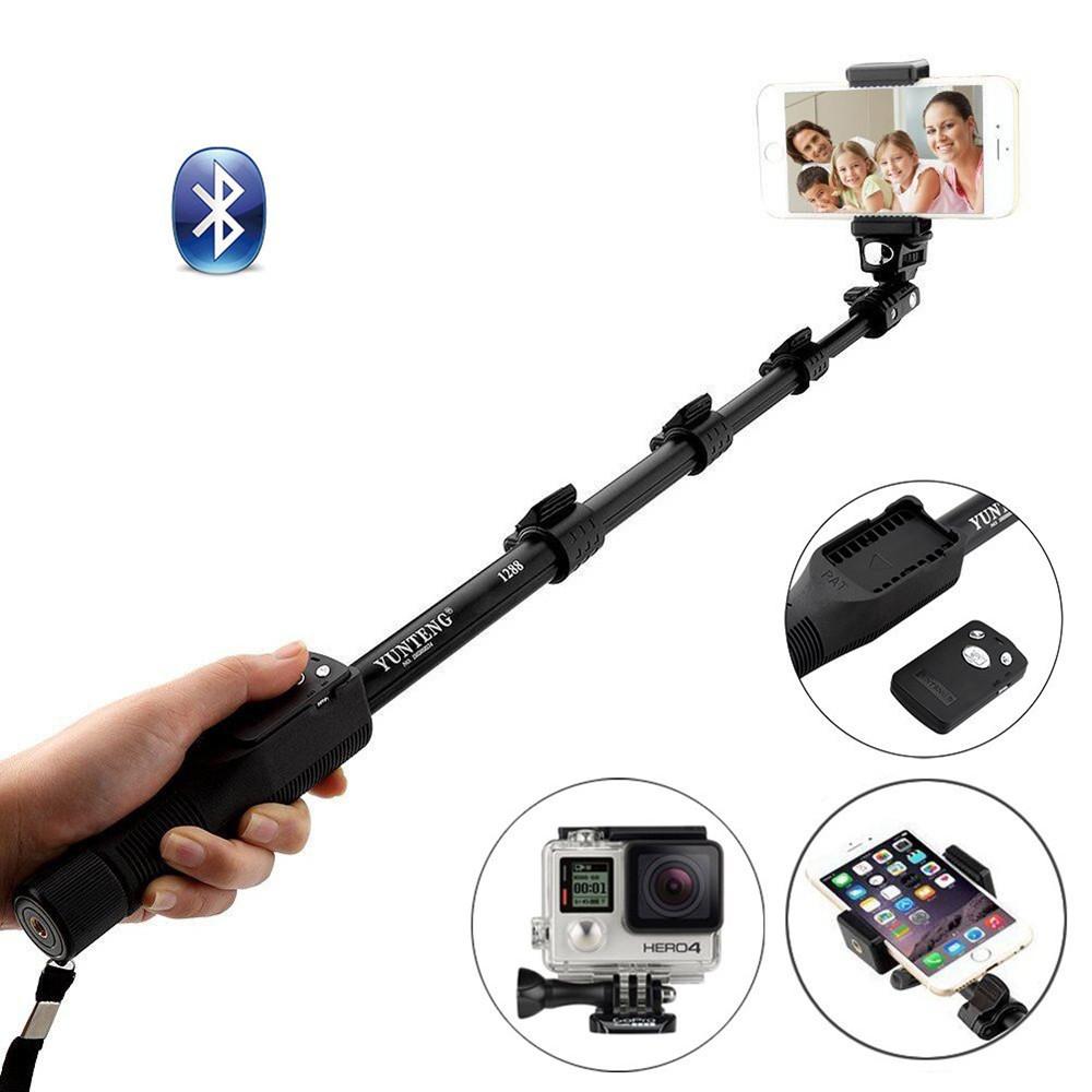 Профессиональный Селфи Монопод Yunteng YT-1288 Bluetooth, Селфи Палка для смартфона