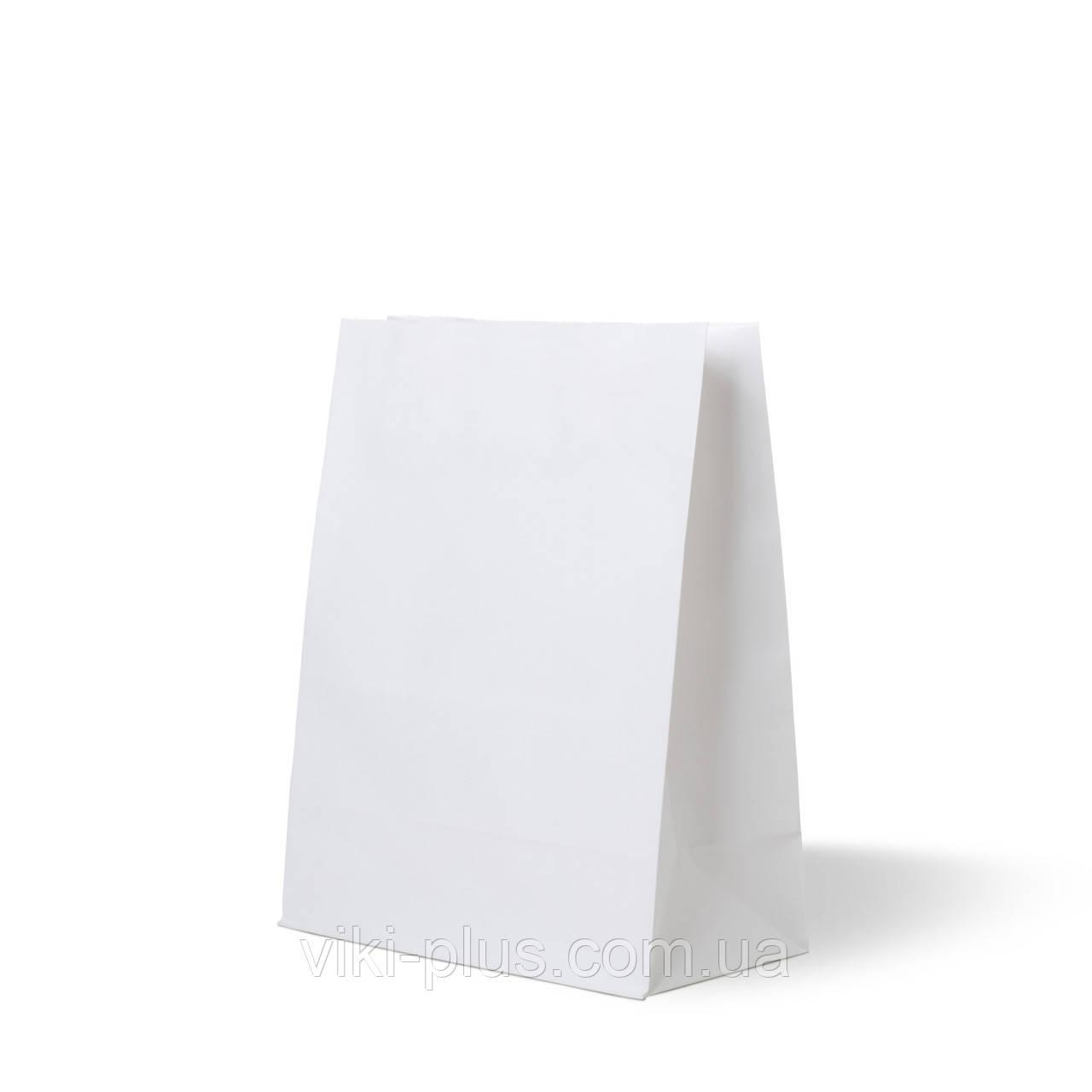 Пакет бумажный 22*8*38 см белый(1000шт/уп)