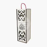 Коробка для вина - ламіноване ДВП