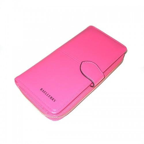 🔥✅ Женский кошелек Baellerry Elect New 3846 Pink розовый, женское портмоне, клатч