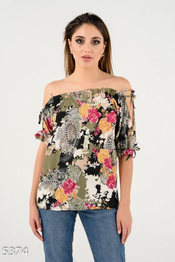 Легкая летняя блуза    Код - 5374