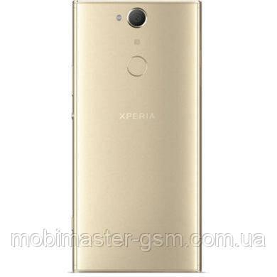 Задняя крышка Sony H4413 Xperia XA2 Plus gold