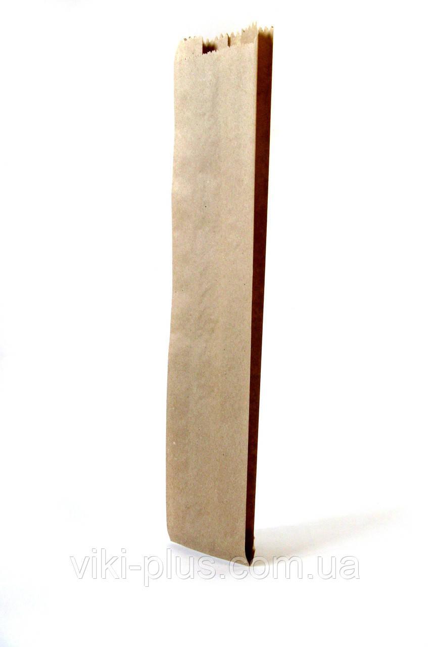 Пакет паперовий 10*4*32 см коричневий (1000шт/уп)