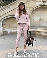 Женский костюм: свободная кофта и брюки 166-63
