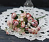 Букет искусственного ранункулуса миник нежно-розового цвета