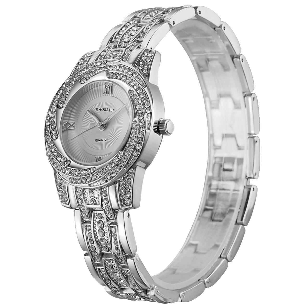 ➢Стильные часы BAOSAILI BSL1030 Silver модный аксессуар для девушек наручные женские часы