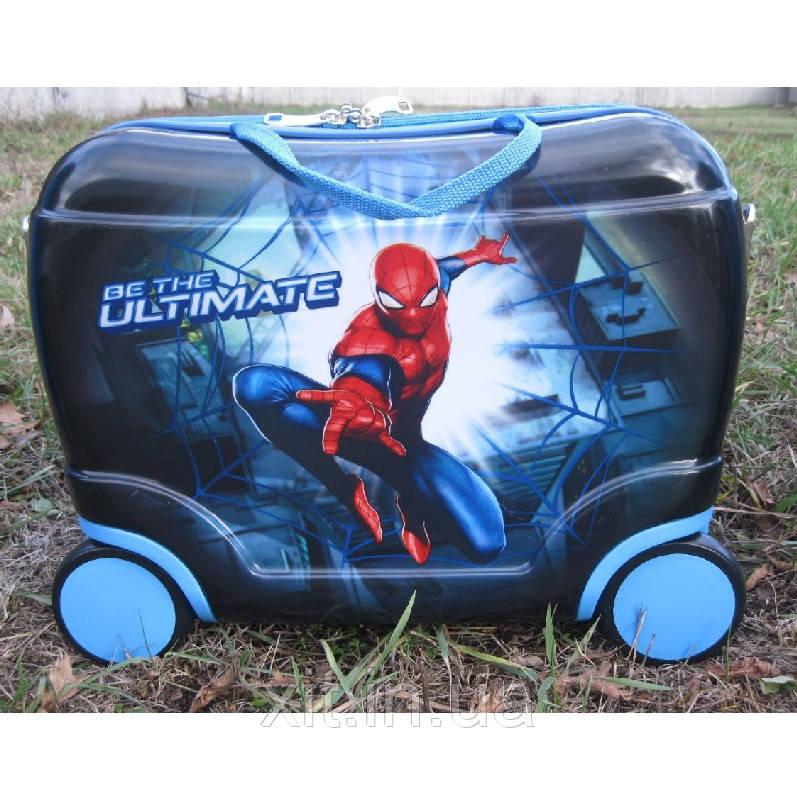 Чемодан каталка Человек паук