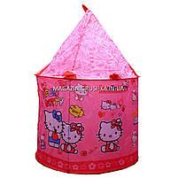 Детская игровая палатка домик «Замок Китти» SG70033HK. Ребенок сможет комфортно играть в палатке., фото 6